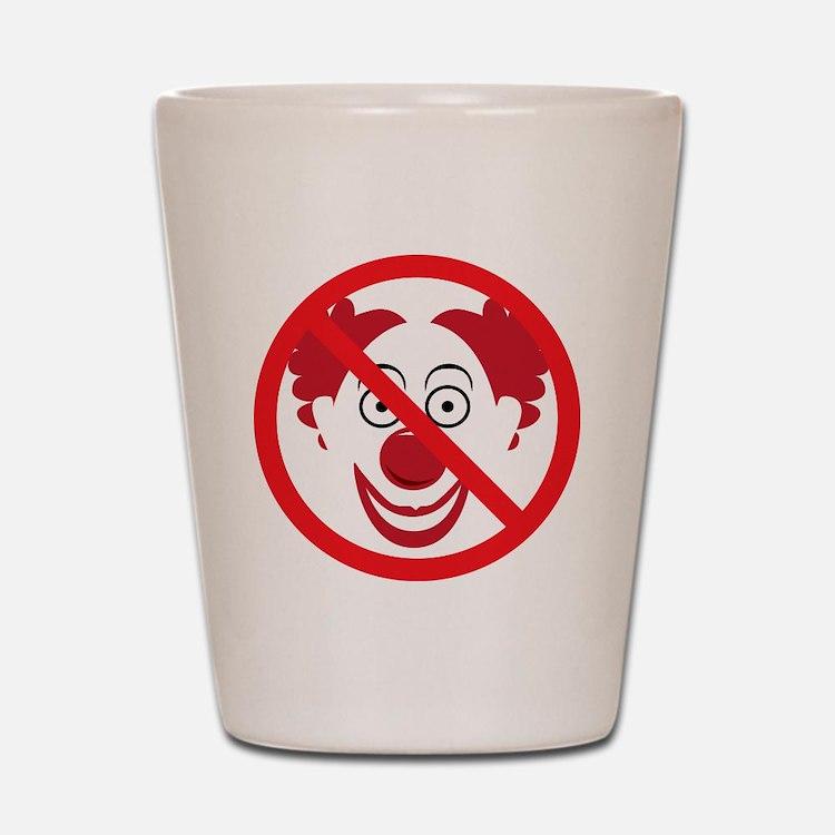 NoClowns Shot Glass