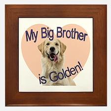 golden bro.gif Framed Tile