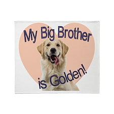 golden bro.gif Throw Blanket