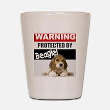pro beagle Shot Glass