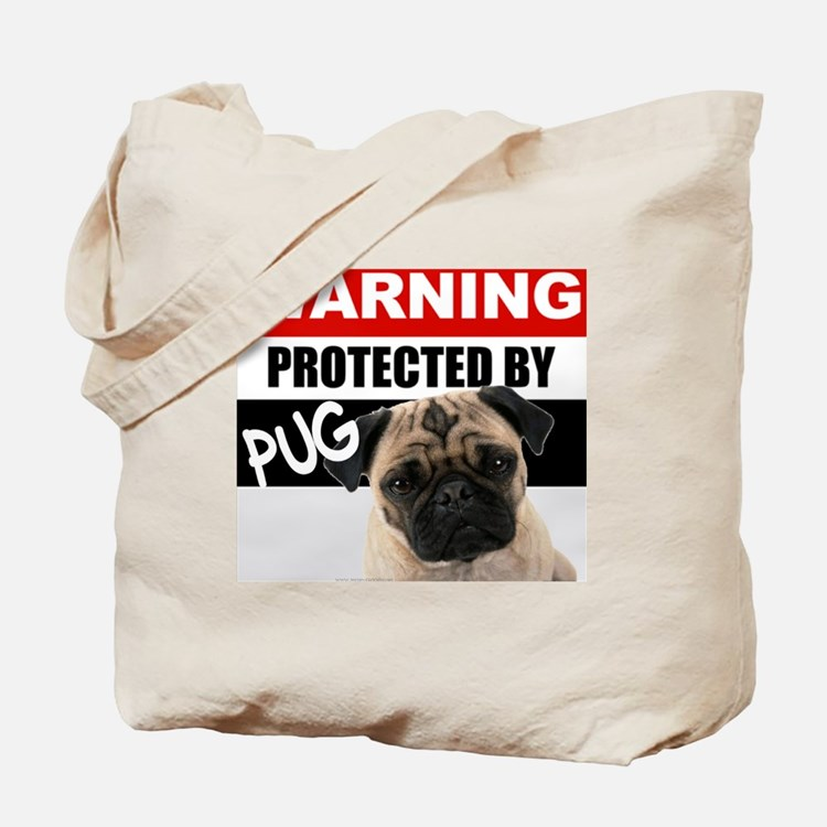 pro pug Tote Bag