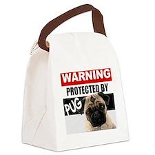 pro pug Canvas Lunch Bag