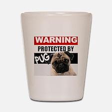 pro pug Shot Glass