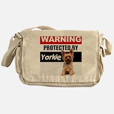pro yorkie Messenger Bag