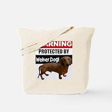 pro weiner dog.gif Tote Bag