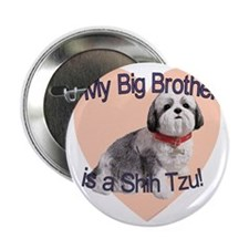 """shihtzu bro.gif 2.25"""" Button"""