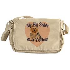 yorkie sis.gif Messenger Bag