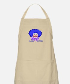 clown shmown BBQ Apron