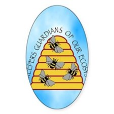 beekeepers iph4 Decal