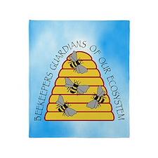 beekeepers iph4 Throw Blanket