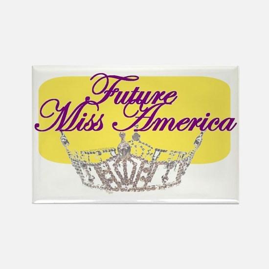 Future Miss America.gif Rectangle Magnet