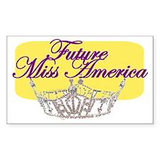 Future Miss America.gif Decal