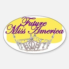 Future Miss America.gif Sticker (Oval)