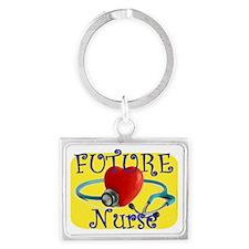 Future Nurse.gif Landscape Keychain