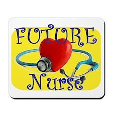 Future Nurse.gif Mousepad