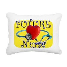 Future Nurse.gif Rectangular Canvas Pillow