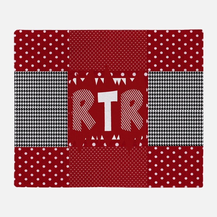 RTR houndstooth  Throw Blanket