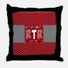 RTR houndstooth  Throw Pillow