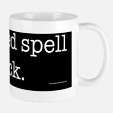 Spell Check Mug