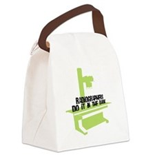 (BXL) Radiographers Do It In the  Canvas Lunch Bag