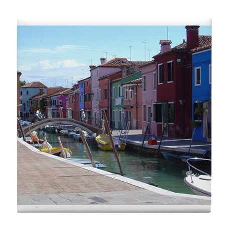 Burano Tile Coaster