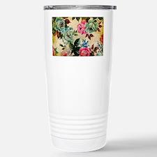 Bag Antique Floral Travel Mug