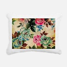 Bag Antiq Flo Rectangular Canvas Pillow