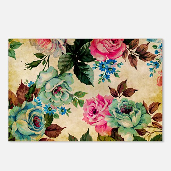 Bag Antiq Flo Postcards (Package of 8)