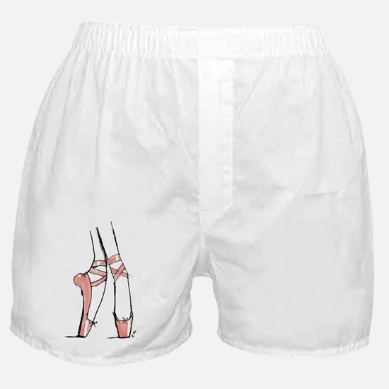On Pointe Boxer Shorts