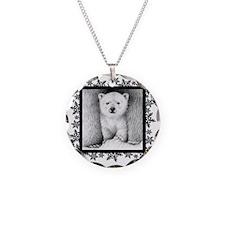 Polar Bear Cub (coaster) Sno Necklace