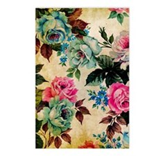 Journal Antiq Flo Postcards (Package of 8)