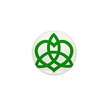 Gaelic-Love-Knot-pock Mini Button