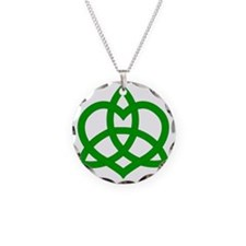Gaelic-Love-Knot-pock Necklace