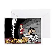 BEATNIK200dpi1300x900 Greeting Card