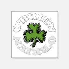 "OBRIEN-001dark Square Sticker 3"" x 3"""