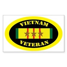 vietnam-oval-3 Bumper Stickers