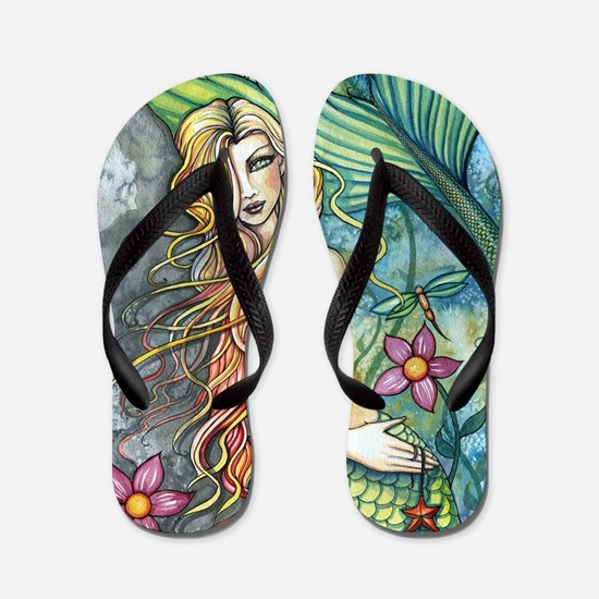 Fresh Water Mermaid cp Flip Flops