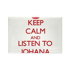 Keep Calm and listen to Johana Magnets