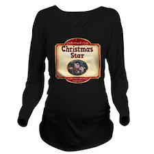 Cuddles - Christmas  Long Sleeve Maternity T-Shirt