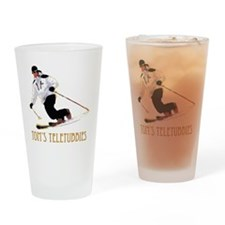 TeletubbieTshirtPNG Drinking Glass