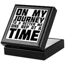 on-my-journey-to-a-better-me Keepsake Box