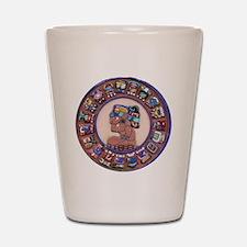 Mayan Calendar Stone Shot Glass