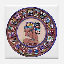 Mayan Calendar Stone Tile Coaster