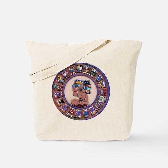 Mayan Calendar Stone Tote Bag
