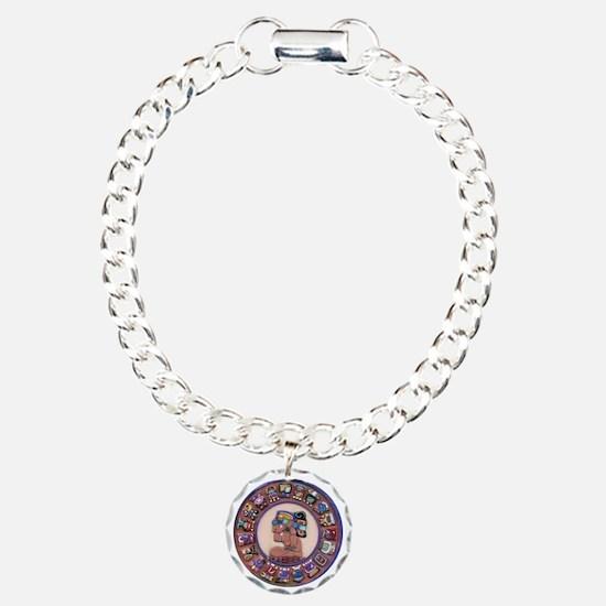 Mayan Calendar Stone Bracelet