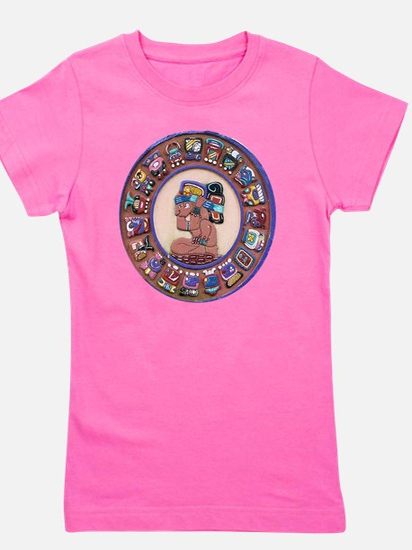 Mayan Calendar Stone Girl's Tee