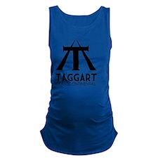 Taggart Transcontinental Black Maternity Tank Top