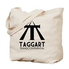 Taggart Transcontinental Black Tote Bag