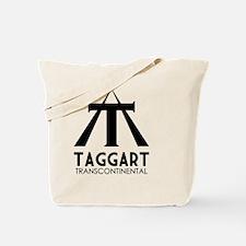 Taggart Transcontinental Black Tote Bag