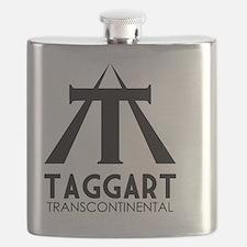 Taggart Transcontinental Black Flask